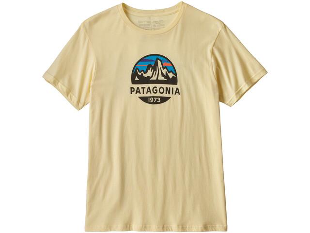 Patagonia Fitz Roy Scope Organic Bluzka z krótkim rękawem Mężczyźni, resin yellow